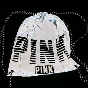 PINK reflective string back pack!